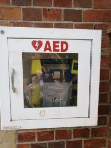 Image of defibrillator