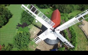 Photo of Argos Hill Windmill from the air