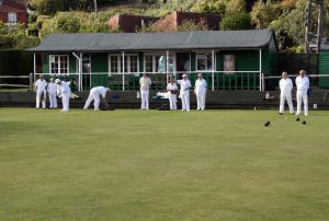 Photo of bowling at Mayfield Bowls Club