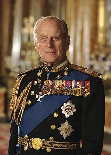 Duke of Edinburgh for online use only